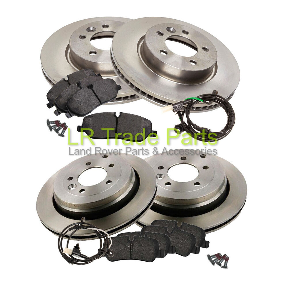 LAND ROVER DISCOVERY 3 TDV6 FRONT & REAR BRAKE DISCS, PADS