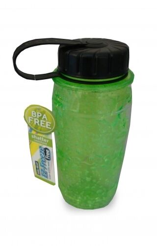 Cool Gear Green Freeze Bottle Ez Freeze Bpa Free Sports