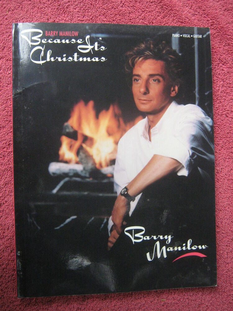 BARRY MANILOW BECAUSE IT\'S CHRISTMAS SONG ALBUM | eBay