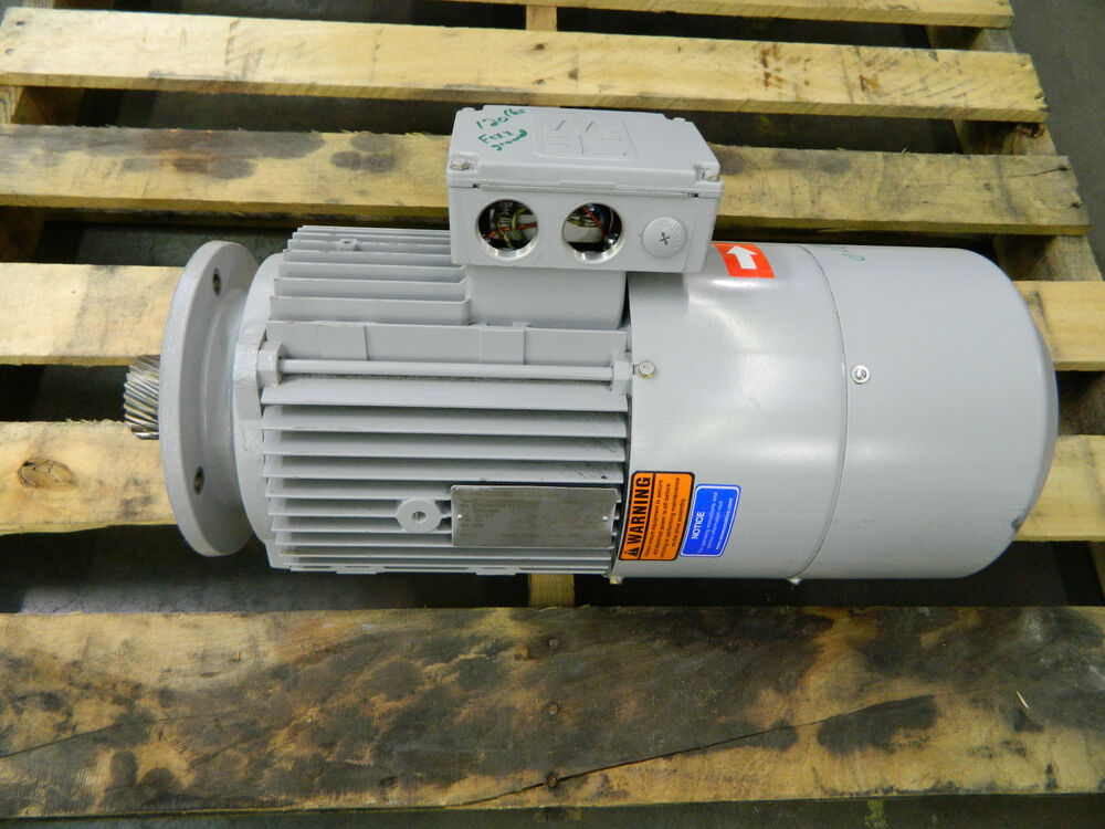 Sew Eurodrive 5 4 Hp 5 4hp Electric Motor W Brake 230