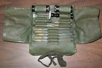 Swiss Army .30 to .50 Cal Rifle Gun Cleaning Kit Military Surplus Made by SIG