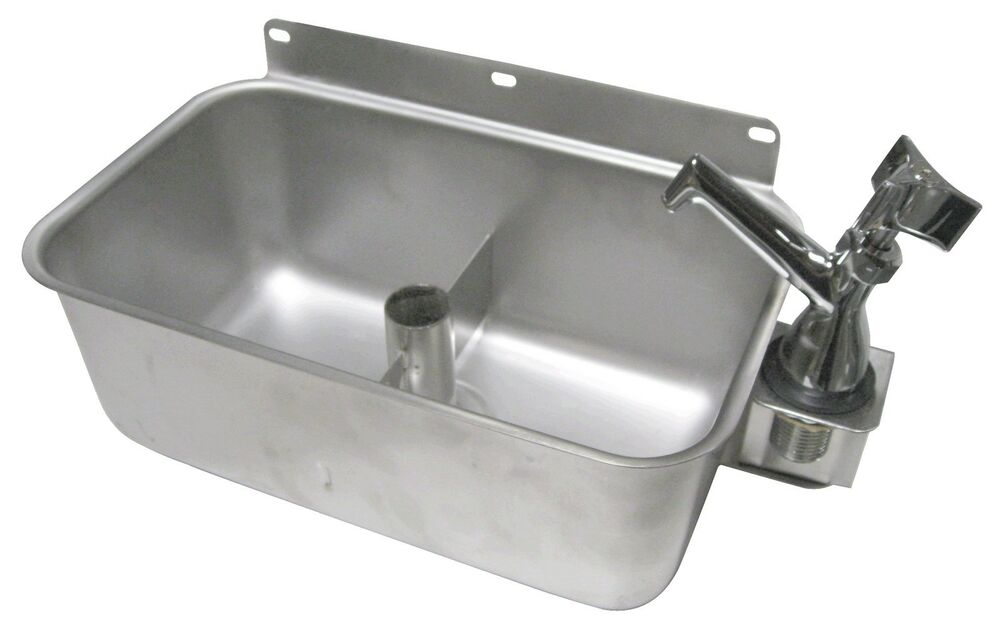 Stainless Steel Table Mount Dipperwell Sink W No Lead