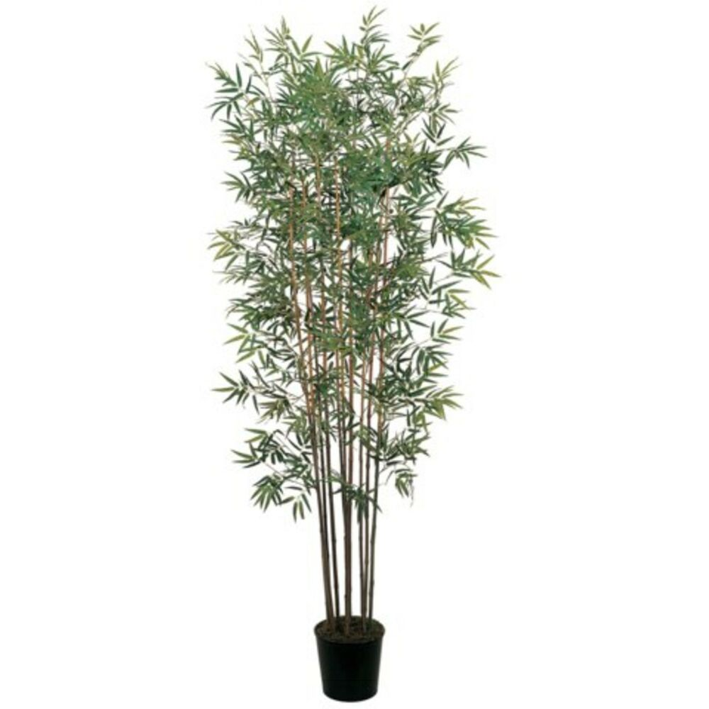 Decorative natural looking artificial asian 6 39 mini bamboo for Faux bambou plante