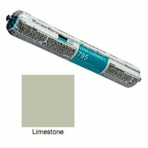 Dow Corning 591ml Limestone Silicone Building Sealant 795 Exp