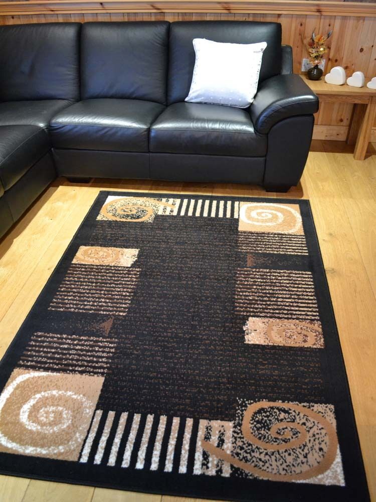 New Small Extra Large Huge Size Black And Dark Brown Floor