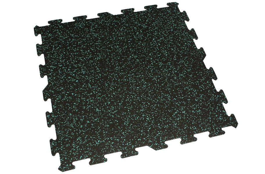 Incstores Rubber Interlocking Gym Floor Tiles 6mm 24 Quot X24