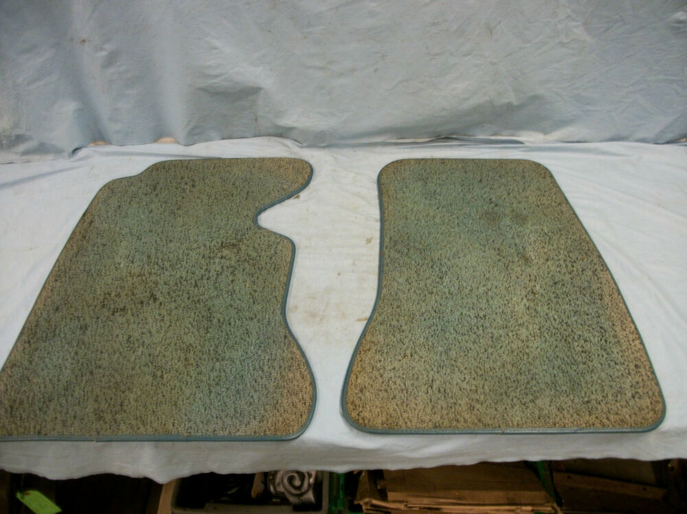 Turquoise Salt And Pepper Floor Mats Ebay