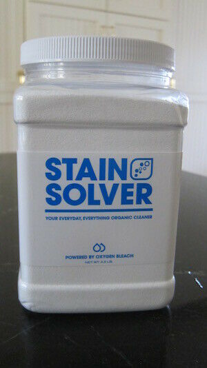 STAIN SOLVER Natural Non-Toxic Oxygen Bleach Cleaner DECK