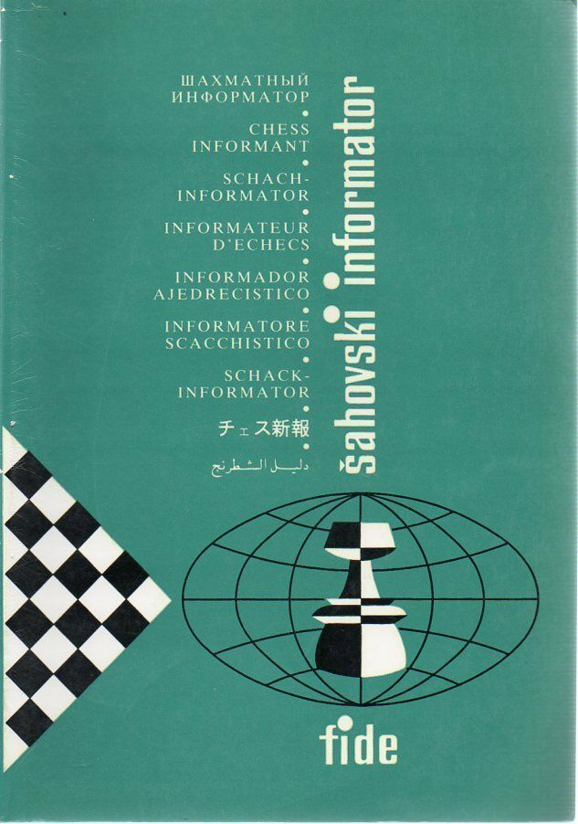 Chess Informant 47 Chess Games Analysis Openings Database 1990