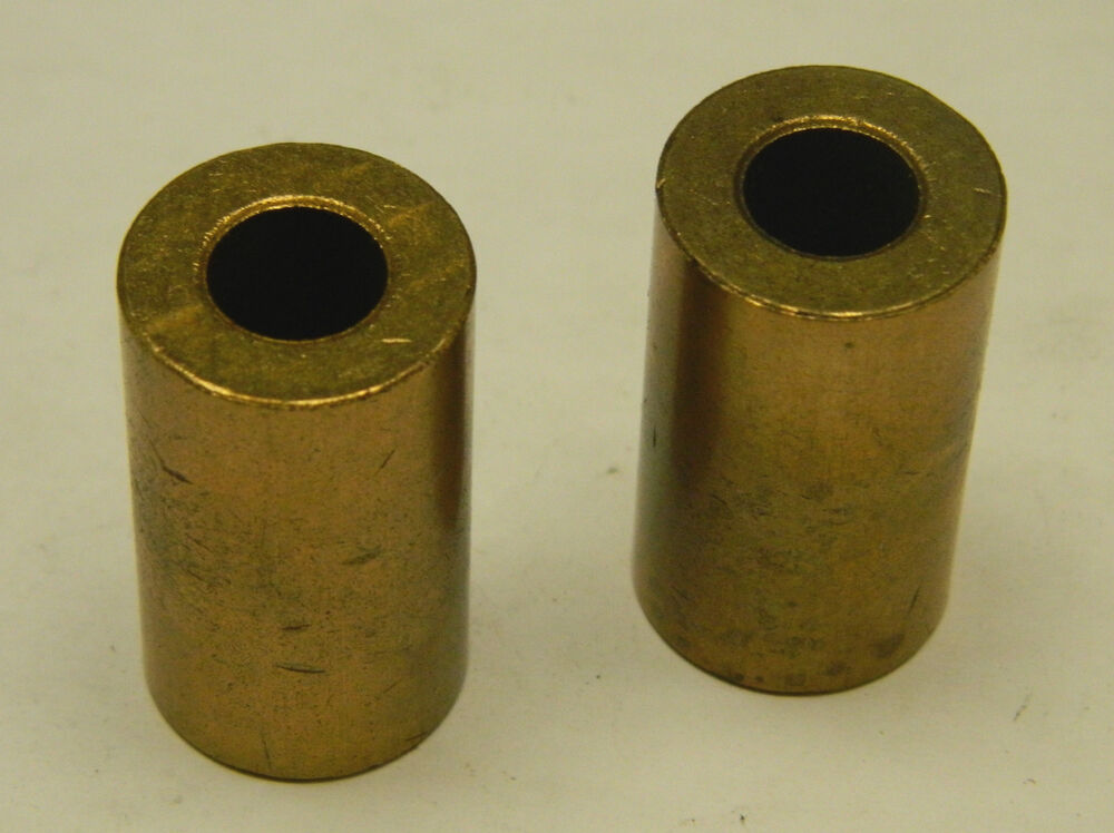 New Lot Of 2 No Name Brass Bronze Bushing 3 8 Quot Id 3 4 Quot Od 1