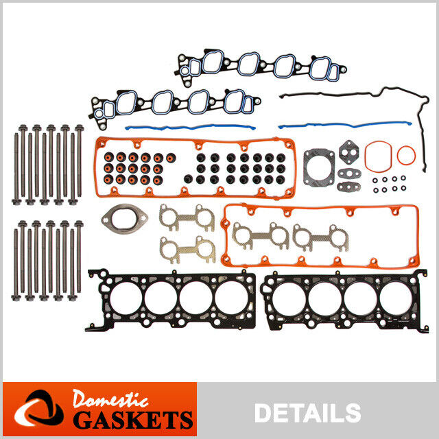Ford F 150 2000 Cylinder Head Gasket: 02-04 Ford Mustang F150 Lincoln Town Car 4.6L SOHC Head