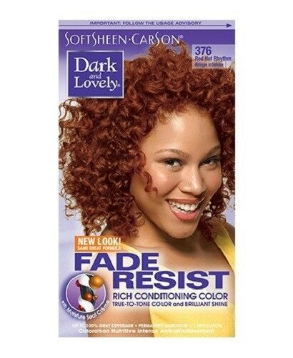 Dark Amp Lovely Fade Resist Rich Conditioning Hair Color 376