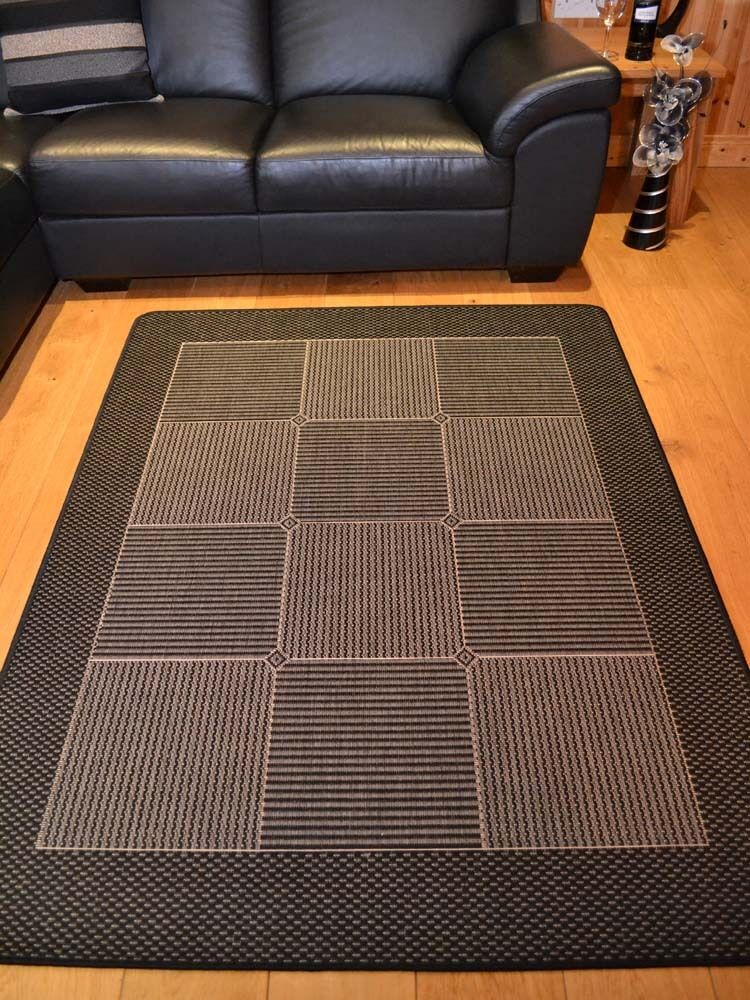 small extra large black and grey silver non slip kitchen floor mats rugs ebay. Black Bedroom Furniture Sets. Home Design Ideas