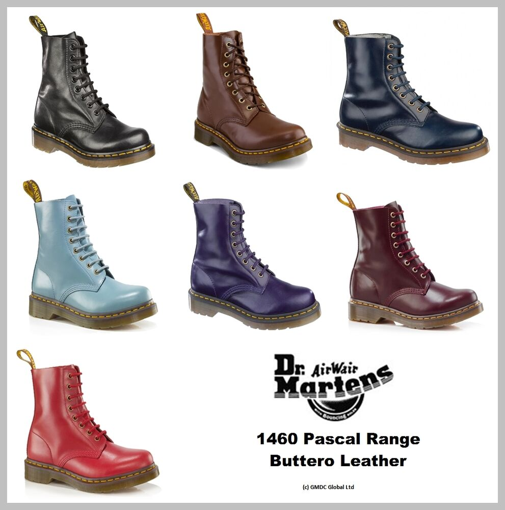 dr doc martens womens 1460 pascal buttero boots 7 seasonal