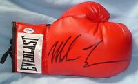 Mike Tyson Signed Everlast Red Boxing Glove PSA/DNA COA Autograph Auto'd Right
