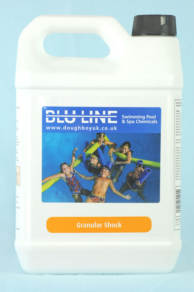 5kgs Of Swimming Pool Shock Treatment Ebay