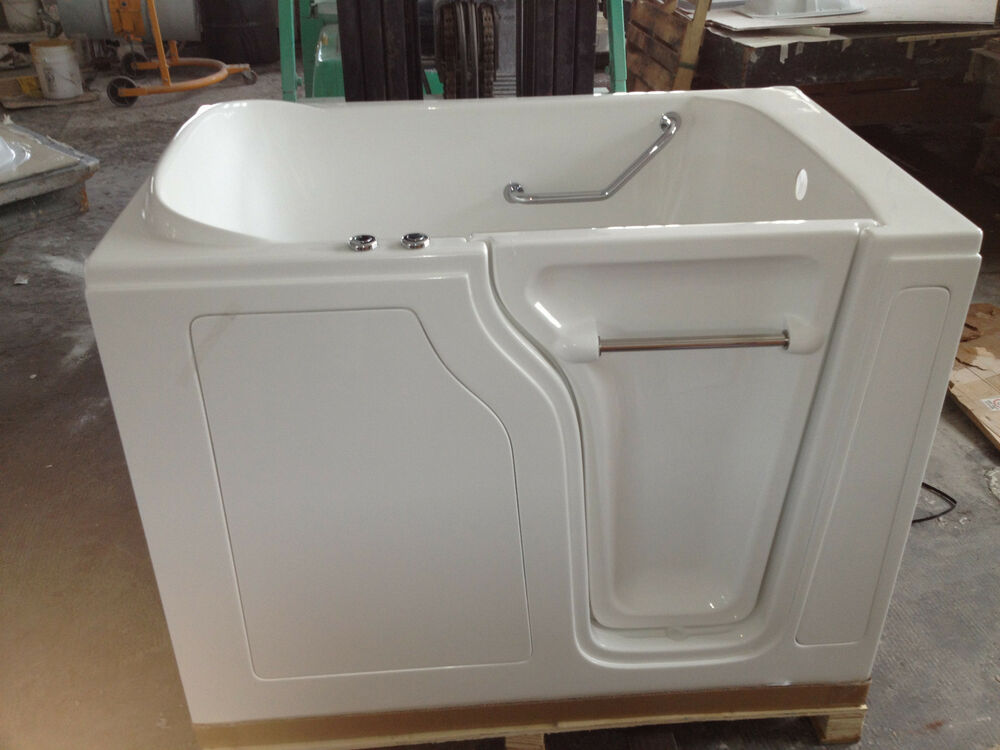 Walk In Tub The Wide Texan Air Jet Therapy 35x55x41 FREE SHIPPING EBay