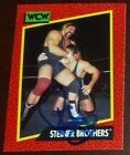 Rick Steiner Signed 1991 Impel WCW Card #112 Autograph Brothers Auto'd WWE WWF