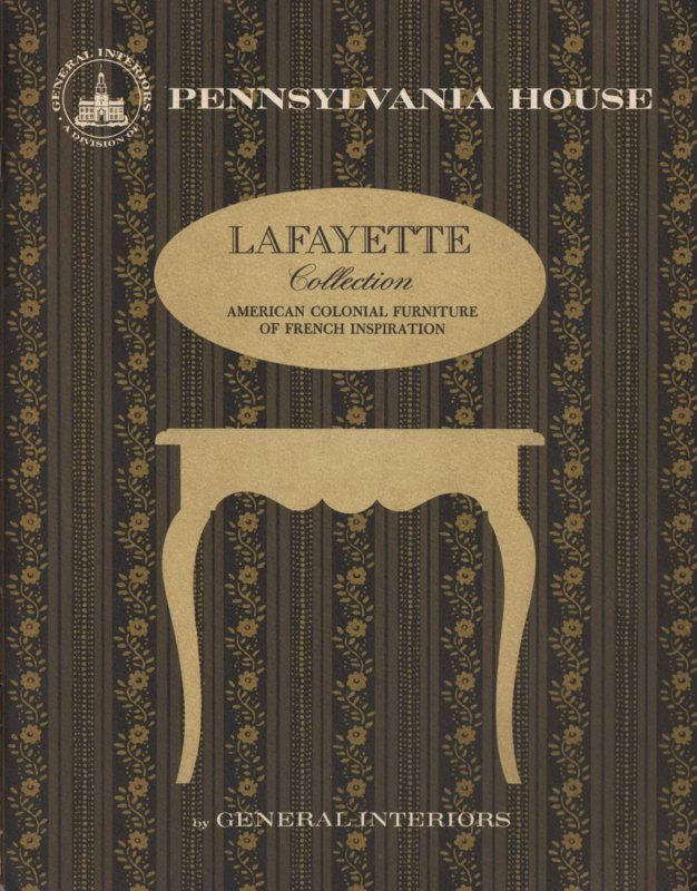 1970s Pennsylvania House Furniture Catalog Lafayette Coll. American  Colonial | EBay
