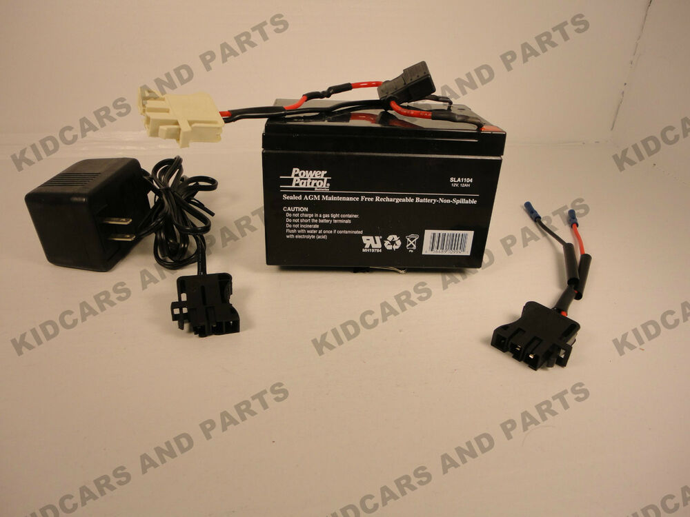 kid trax re plug kit includes 12 volt 12 ah battery 12 v charger kid trax re plug kit includes 12 volt 12 ah battery 12 v charger amp 12v plug