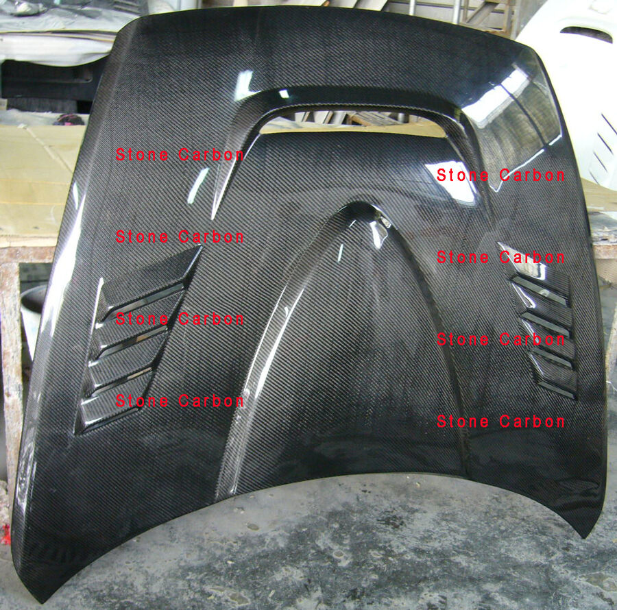Nm Style Carbon Fiber Hood Bonnet For 04 08 Mazda Rx8 Ebay