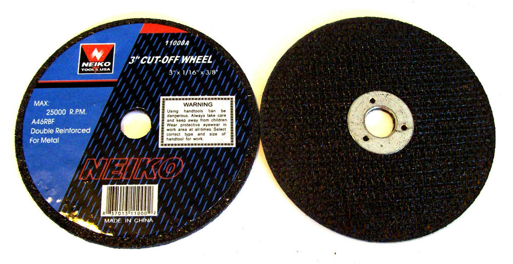 how to use a cut off wheel