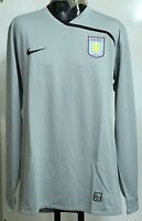 ASTON VILLA 2008/09 PLAYER ISSUE GREY GOALKEEPER SHIRT ADULTS SIZE XXL BRAND NEW