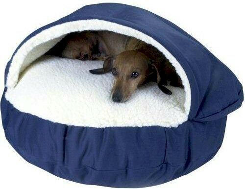 covered dog bed snoozer cozy cave covered cat nesting pet bed small 28760
