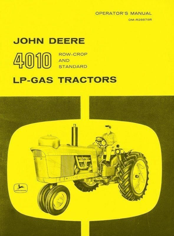 John Deere 4010 Transmission Manual