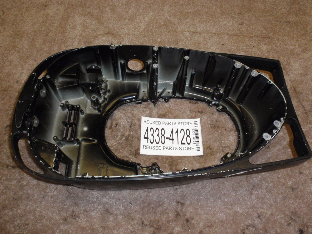1974 mercury 115hp outboard motor lower cowl shroud ebay for Mercury outboard motor cowling