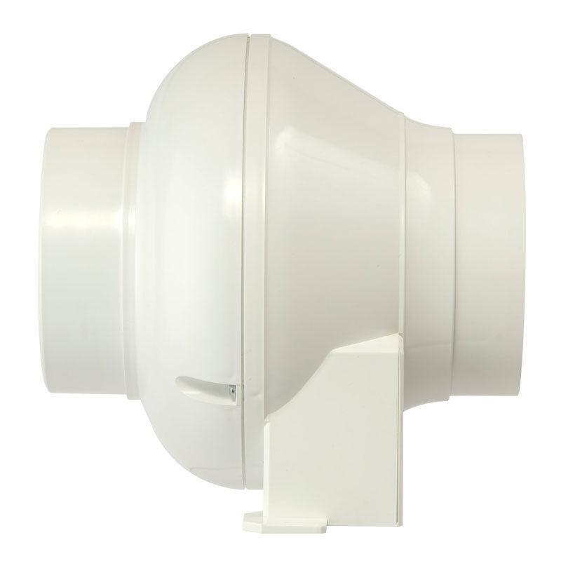 Manrose cfd200tn in line centrifugal fan with timer 4 100mm cfd200t ebay for In line centrifugal bathroom fan