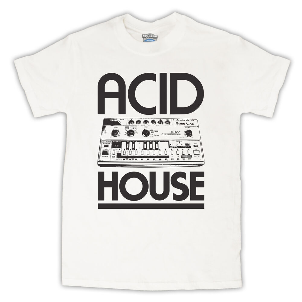 Acid house bass synth dance rave music retro t shirt all for What is acid house music