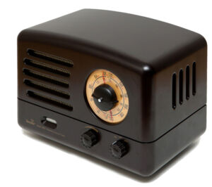 Zenith Wood Radio
