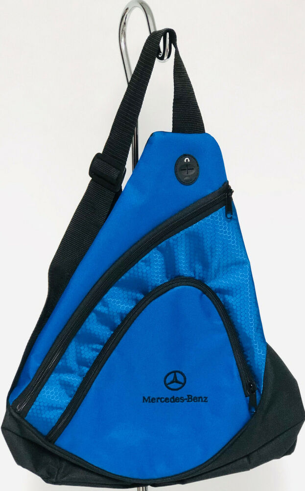 Mercedes benz backpack light weight sling pack the for Mercedes benz backpack