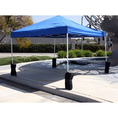 Free Weights Walmart: Canopy Sand Bag Anchor Kit - Set Of 6 Tent Pole Weights
