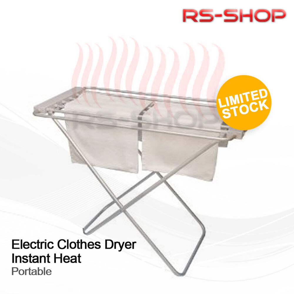 Lightweight Portable Foldway Electric Heated Clothes Horse