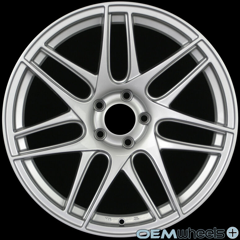 "19"" SILVER CX-R-STYLE WHEELS FITS AUDI A4 S4 RS4 B5 B6 B7"