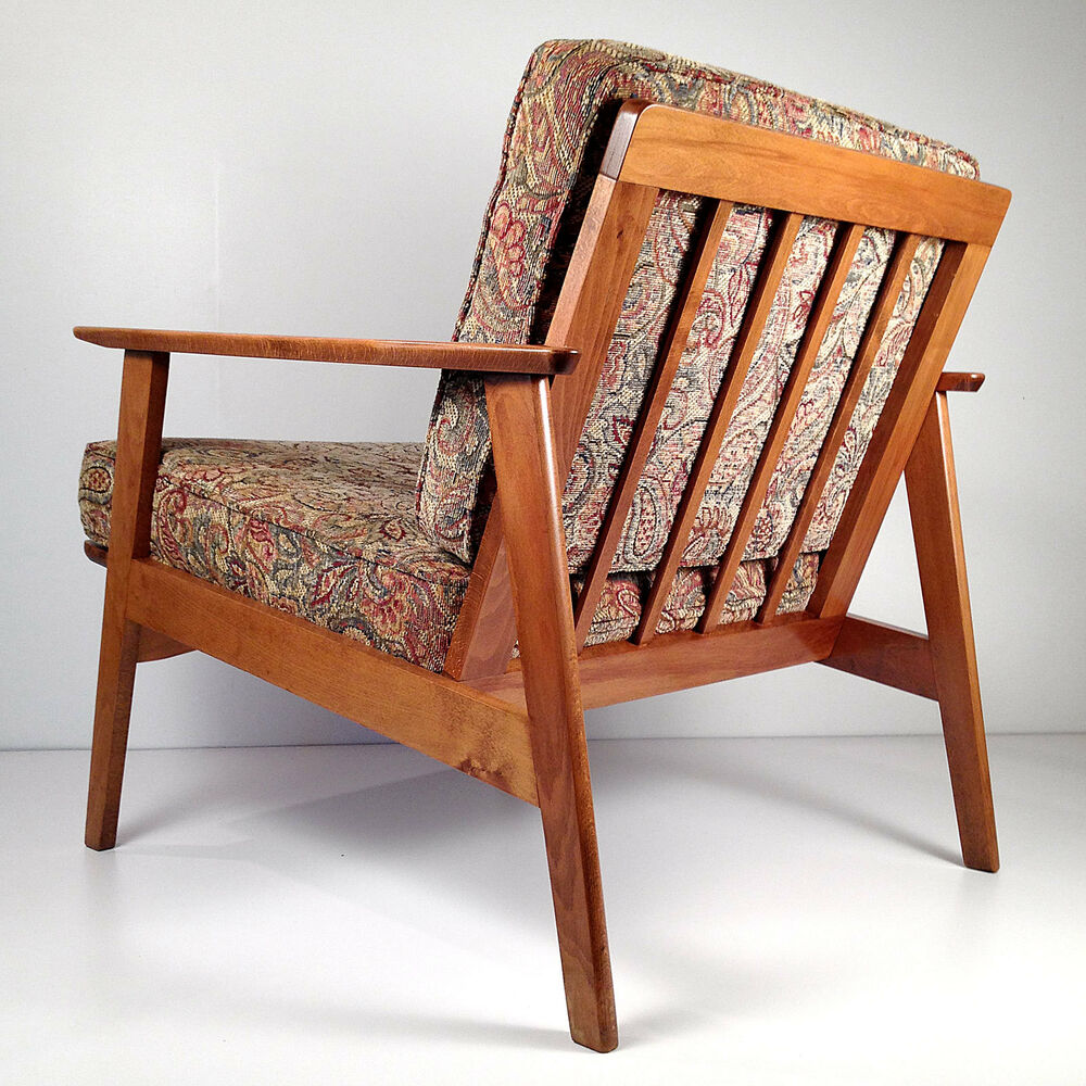 Vintage Mid Century Danish Modern Lounge Chair