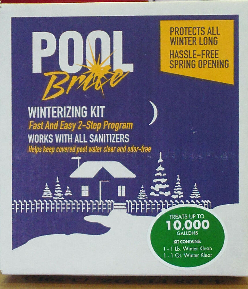 Pool Non Chlorine Swimming Pool Winter Closing Kit 10 000 Gallons Ebay