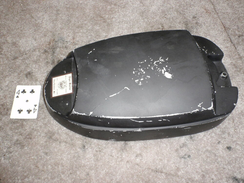 Mercury outboard motor top cowl cover ebay for Mercury outboard motor cowling