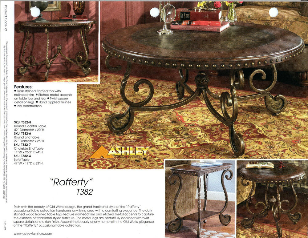 Rafferty traditional classics occasional tables ebay for Rafferty coffee table