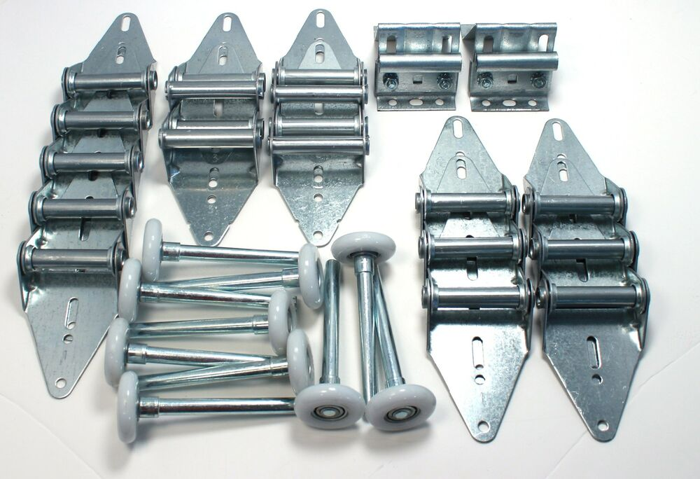 Garage Door Hinge And Roller Tune Up Kit 16x7 Or 18x7 Ebay