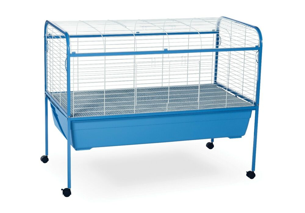 Prevue 620 jumbo rabbit bunny guinea pig cage hutch ebay for Guinea pig stand