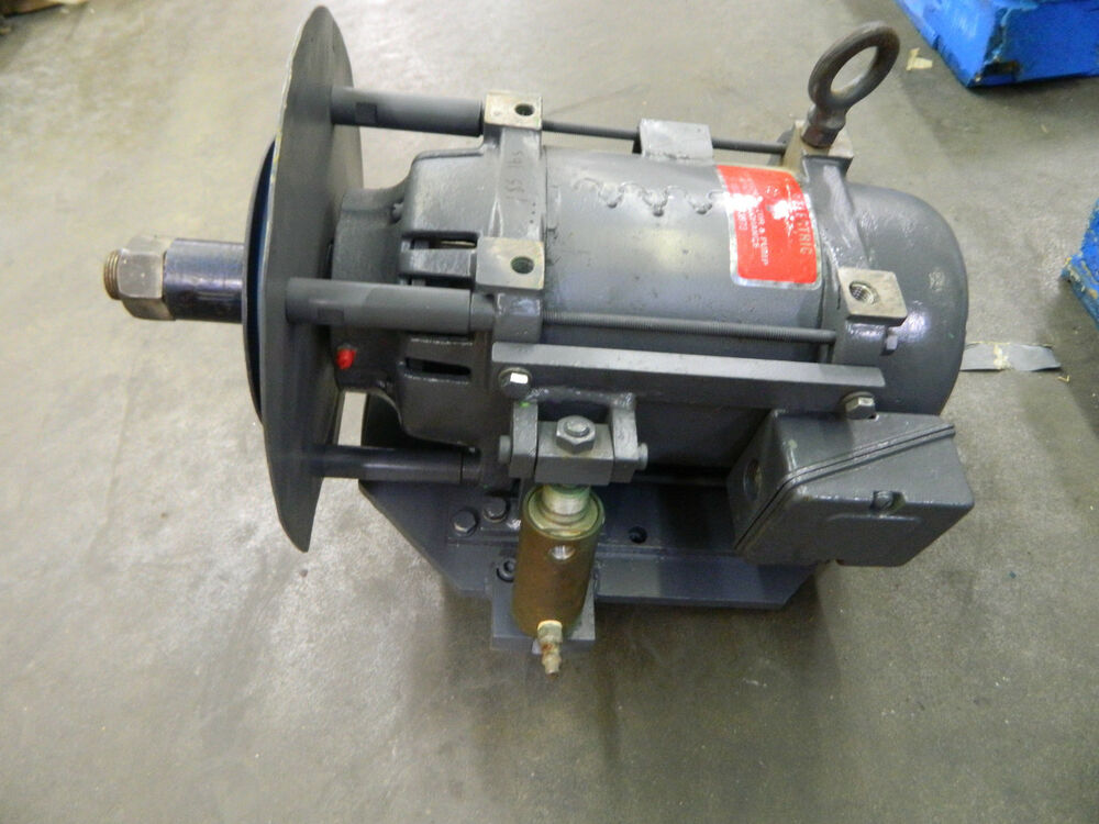 Rebuilt doerr 71445 electric motor 7 5hp 7 5 hp 3500 rpm for 7 5 hp electric motor 3 phase
