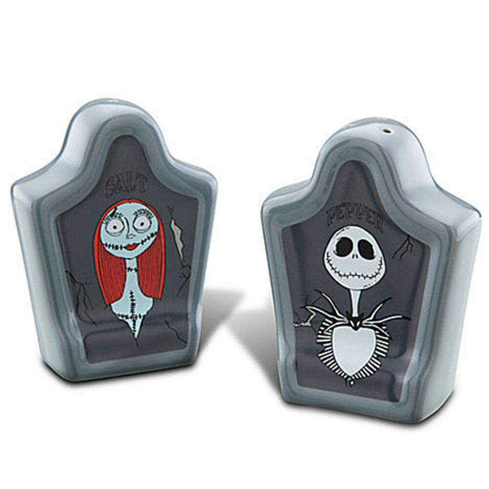 NEW Disney Parks Nightmare Before Christmas Tombstone Salt & Pepper ...