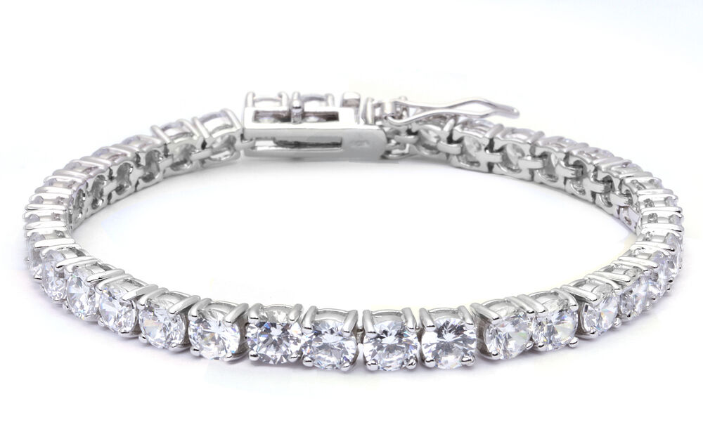 Top Seller 10 5ct Tennis Bracelet Russian Cz 925