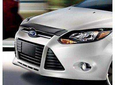 2012 2013 ford oem focus smoke bug shield hood deflector ebay for 2012 ford focus exterior accessories