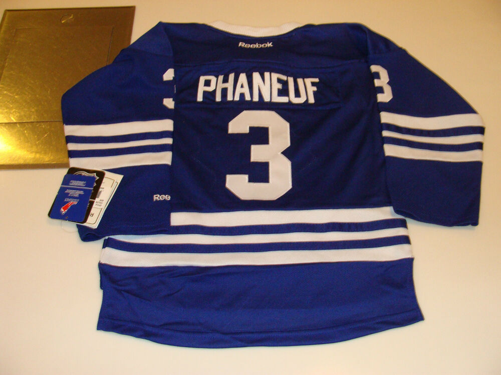 Details about 2012-13 Toronto Maple Leafs 3rd Alternate Jersey Child S M  Youth Dion Phaneuf e515fcd39