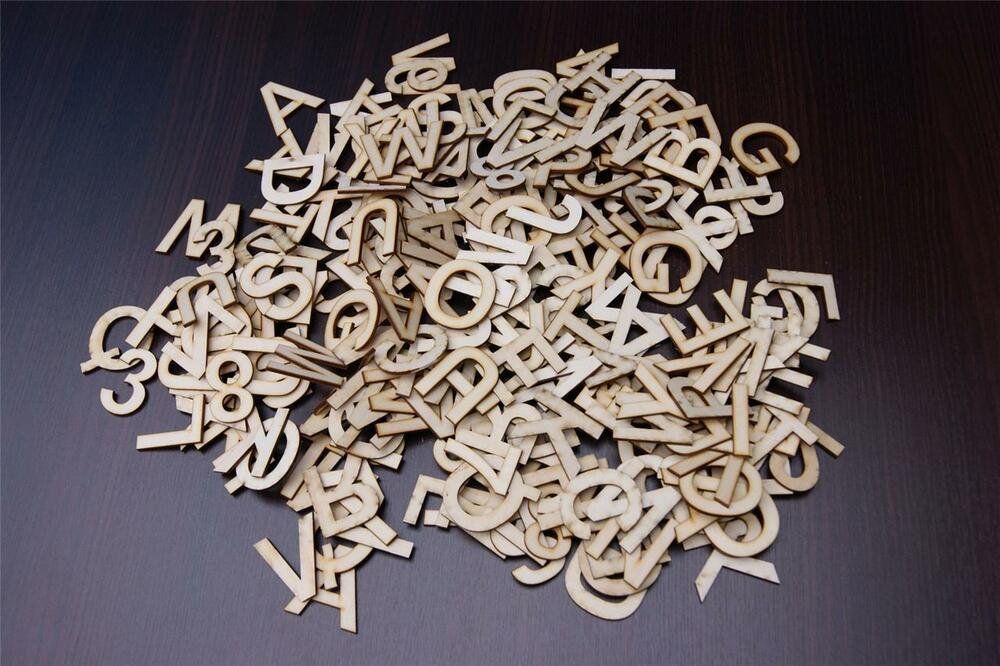 250 5cm plain wooden small letter digits letters for Small wooden letters for crafts