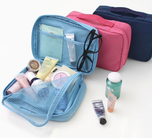 Monopoly Multi Pouch_Cosmetic Makeup Travel Case Organizer